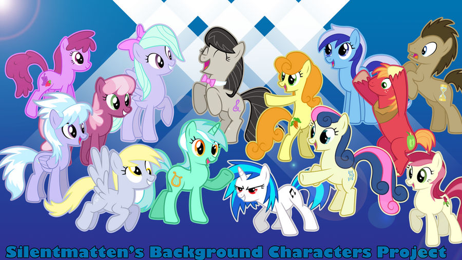 Background Characters Project Vectors