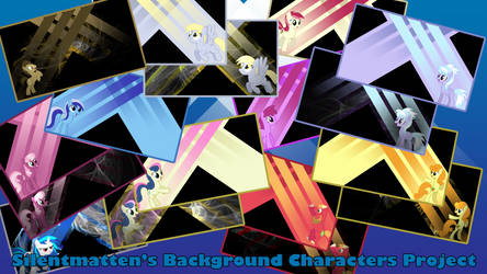 Background Characters Wallpaper Display