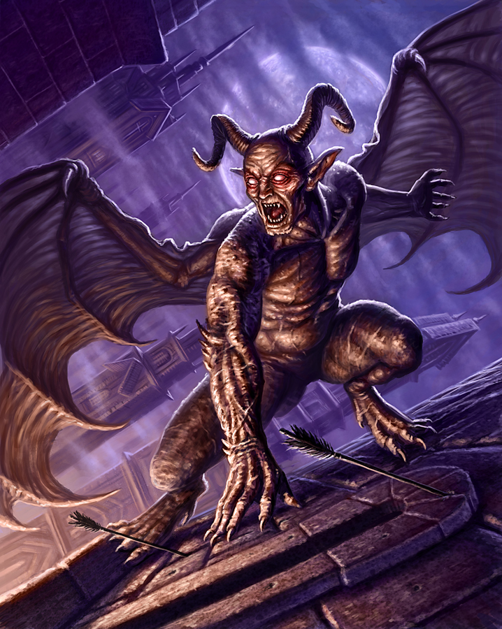 Gargoyle by R-Valle on DeviantArt
