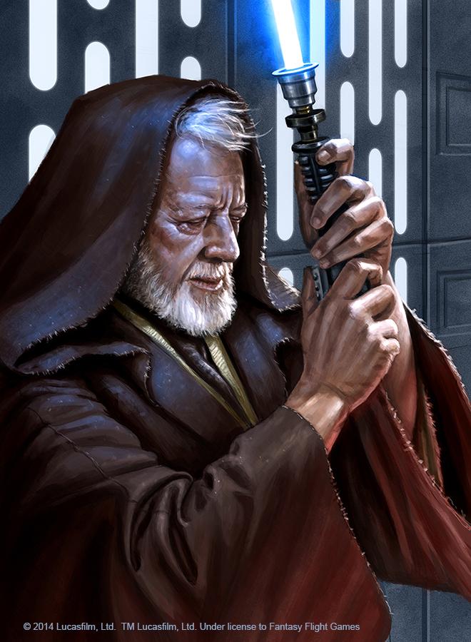 Obi-Wan Kenobi by R-Valle