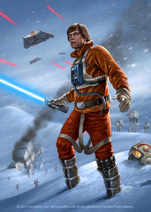 Luke Skywalker By R Valle