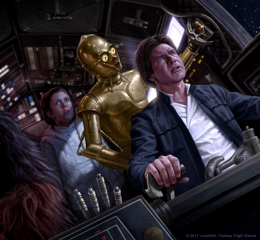 Never Tell Me The Odds By R-Valle On DeviantArt