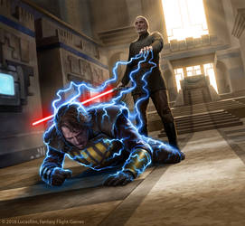 Anakin vs Dooku by R-Valle