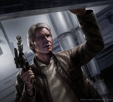 Han Solo by R-Valle
