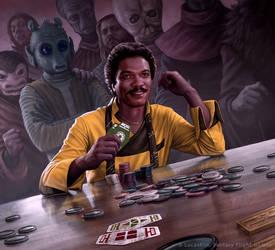 Lando Calrissian by R-Valle