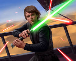 Luke Skywalker by R-Valle