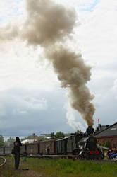 Smoke column by werneri