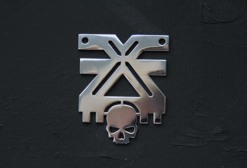 Warhammer40k The Mark of Khorne pendant by Snoopyc