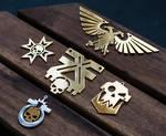 Warhammer40k Golden Collection Pendants