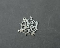 Alpha legion pendant by Snoopyc