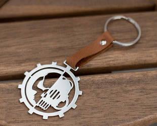 Adeptus Mechanicus keychain by Snoopyc