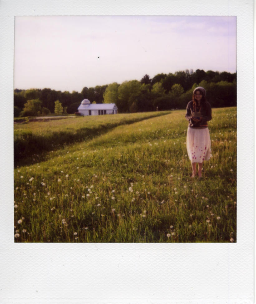 Karina in the Field by lykesorad