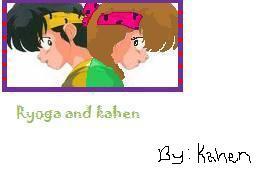 Ryoga and kahen by Kahen-san