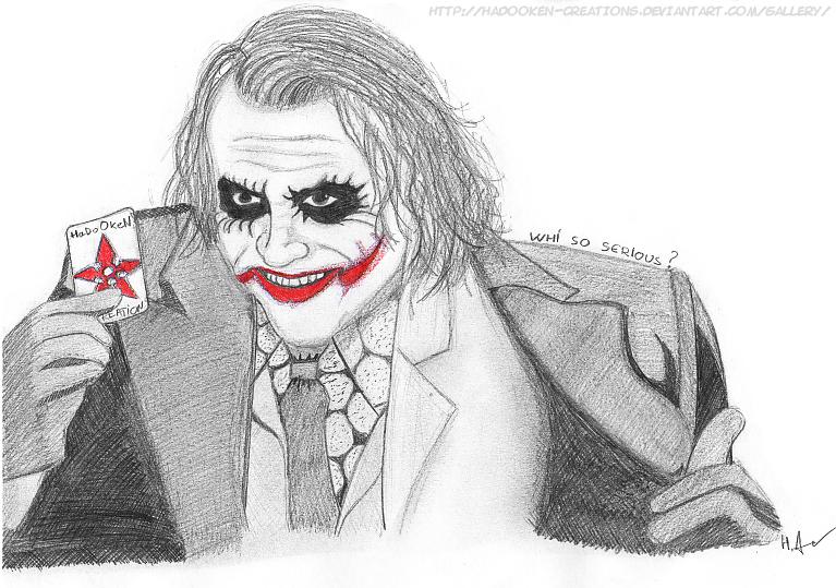 Dessin 15 : The Joker By HaDoOkeN-Creations On DeviantART