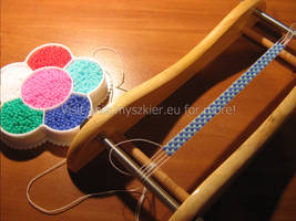 Working with loom by Panna-Kot