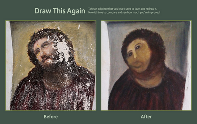 Draw this again - Jesus