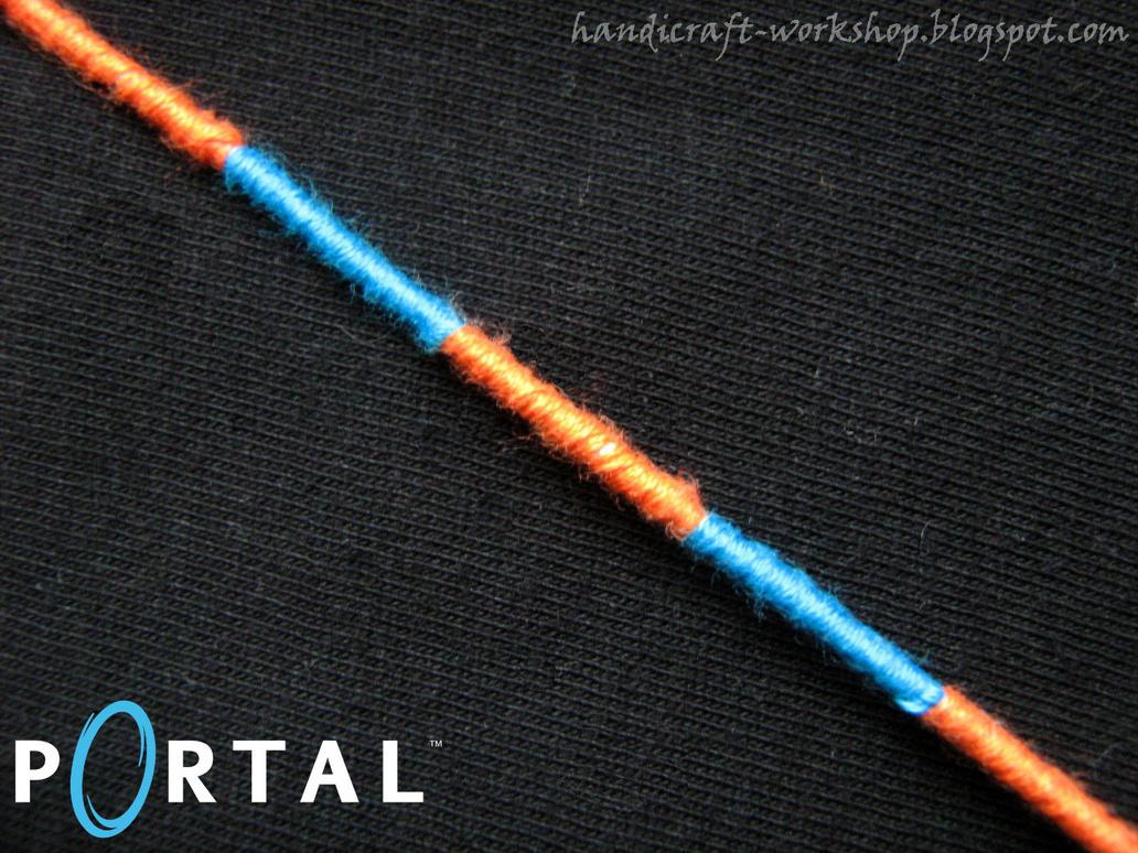 Portal bracelet by Panna-Kot
