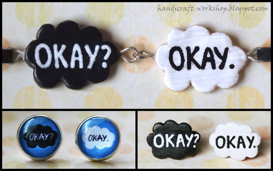 The Fault in Our Stars - jewellery set