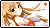 Stamp Asuna by Denisse-Lyn