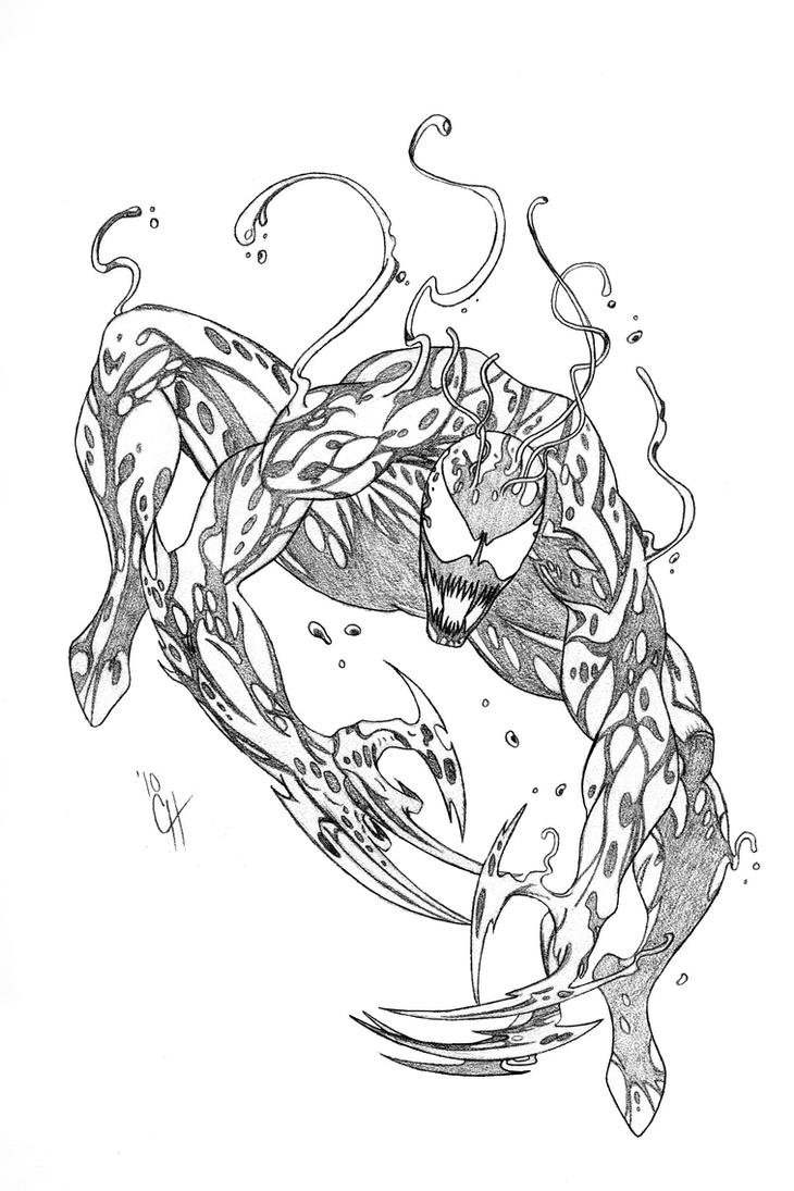 Carnage By Jerica128 On Deviantart Carnage Coloring Pages