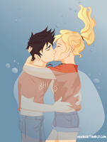 the best underwater kiss ever by noori18