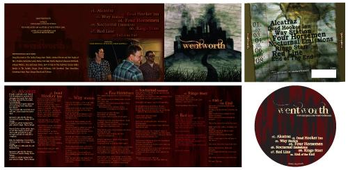 Wentworth CD Layout by Glacier-Grrl