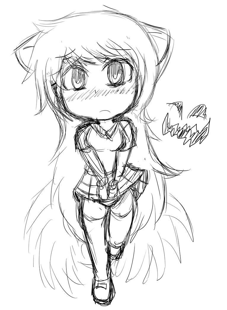 Foxy Girl mileena kye by taskimosaki