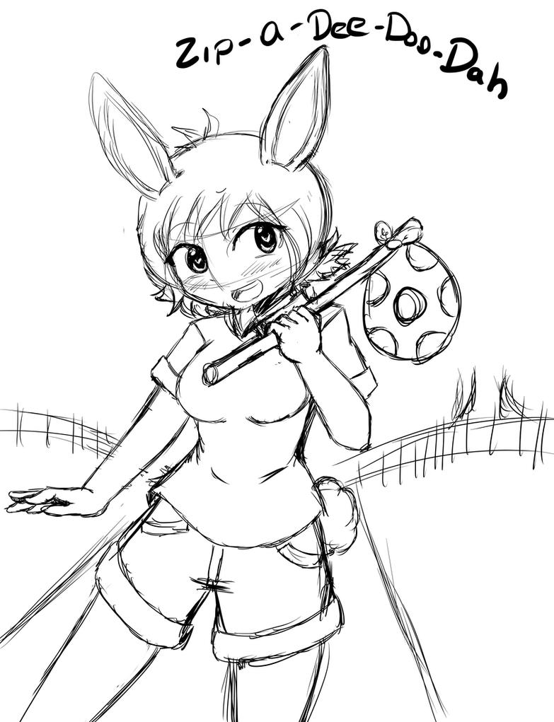 Zip A Dee Doo Dah br'er rabbit girl version by taskimosaki
