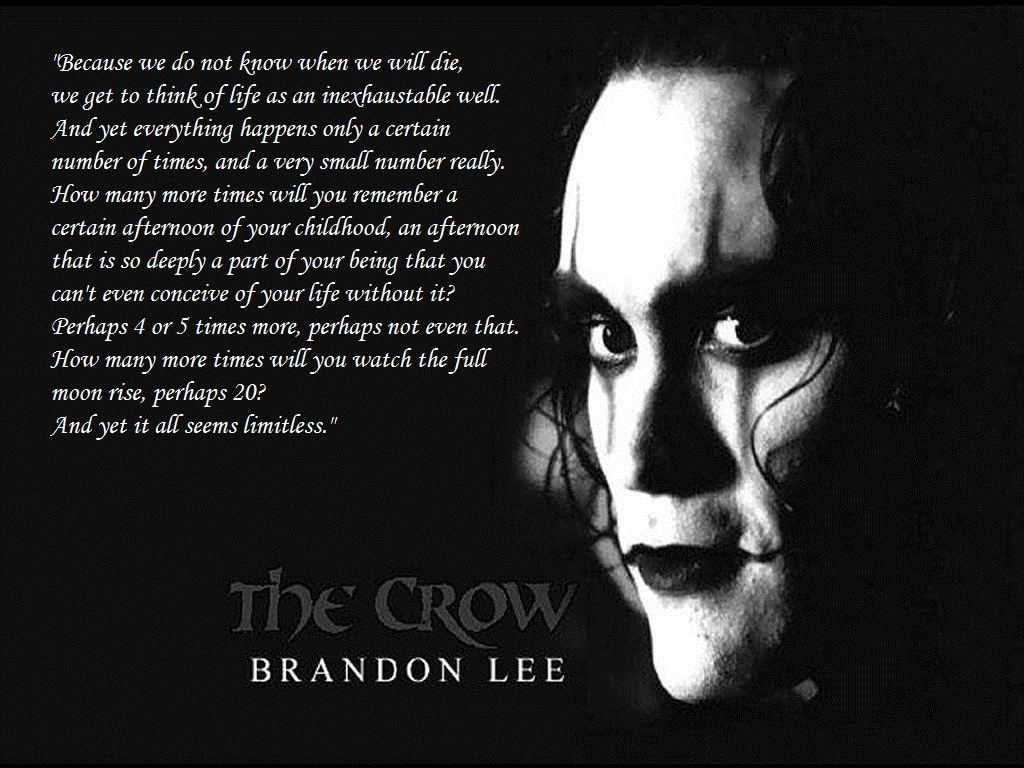 Image result for brandon lee quotes