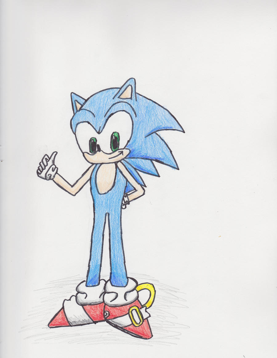 Sonic the Hedgehog by Squary1337