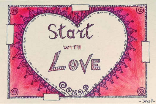 Taped #startwithlove