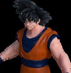 3D Anime : Dragonball Z Goku Pic 2 by Ji-Nero-Kendrick