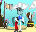 Pirate Ponehs (Contest Entry) by AwkwardNutella