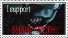 Sharp Teeth Stamp by Kaaziel