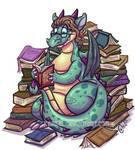 Librarian dragon