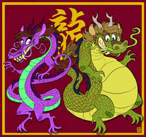 Year of the Dragon by Kaaziel