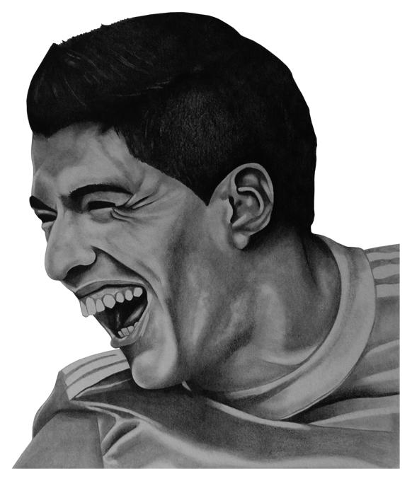 Luis Suarez Liverpool FC by El-Grego