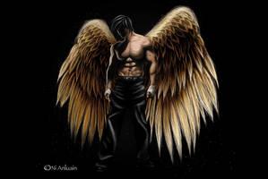 Archangel Raphael by NiAnluain