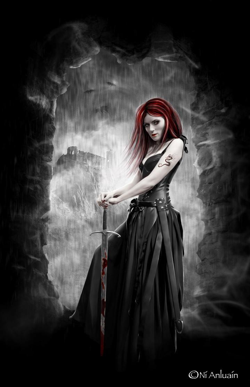 Gothic warrior women hentai tube