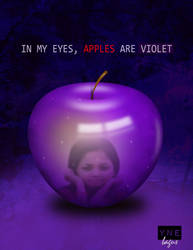 violet apple