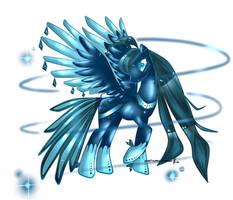 sapphire peacock MLp adoptable CLOSED by AquaGalaxy