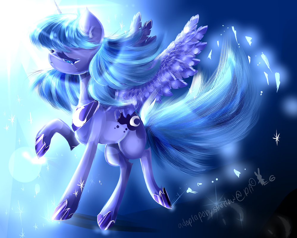 Luna's Release by AquaGalaxy