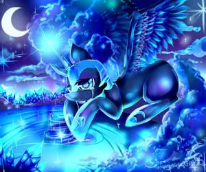 (MLP)Nightmare Moon- A Wish by AquaGalaxy