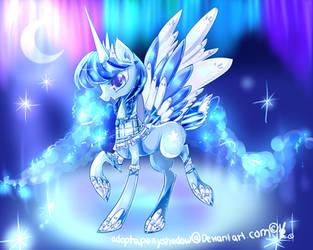 aurora lace Pony adopt CLOSED by AquaGalaxy