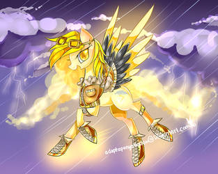 MLP adopt pony : Thunder whirlwind CLOSED by AquaGalaxy