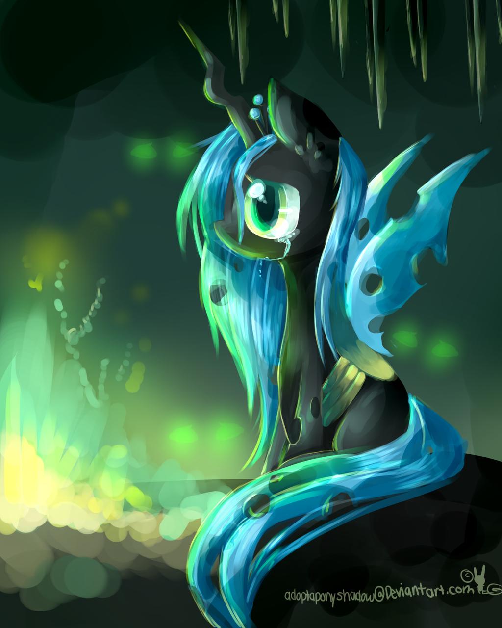 MLP princess chrysalis by AquaGalaxy
