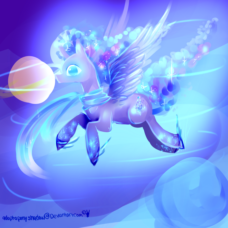 shooting galaxy gift by AquaGalaxy
