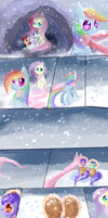 The scarf MLp comic