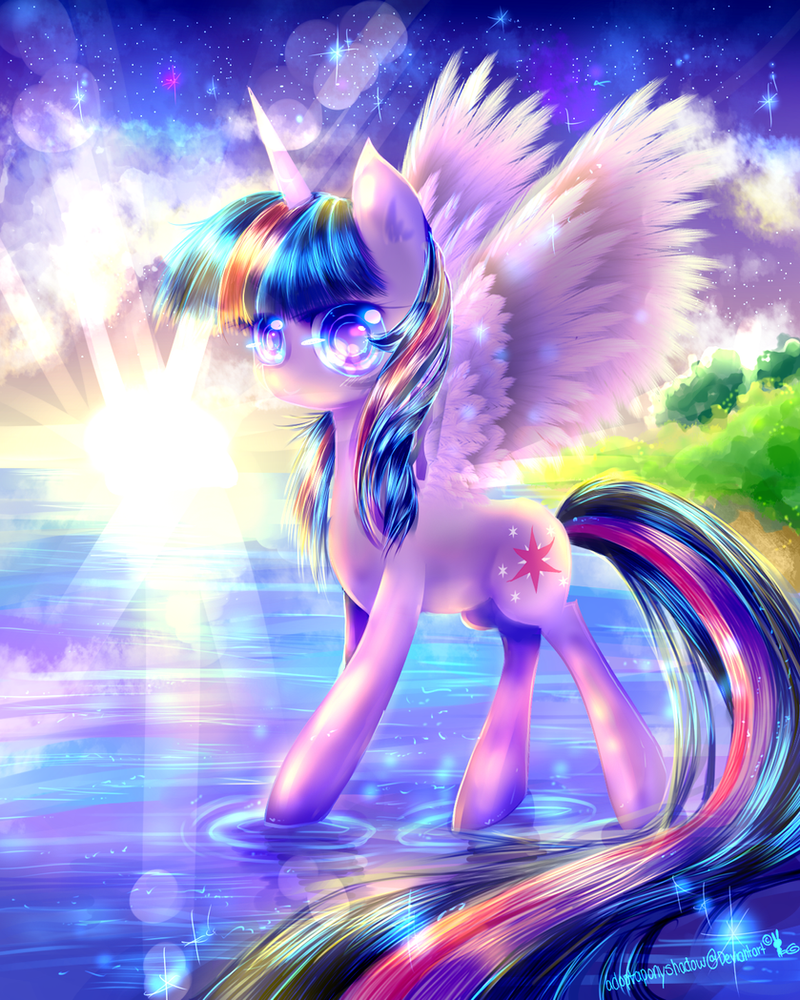 Dawn of the princess~ Twilight sparkle (MLP) by AquaGalaxy on ...