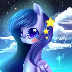 happy birth day Rebecka-chan! doodle by AquaGalaxy
